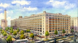 Rendering of Federal Building #2 Redevelopment.