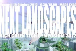 High Green Tech Symposium 2012 – Next Landscapes